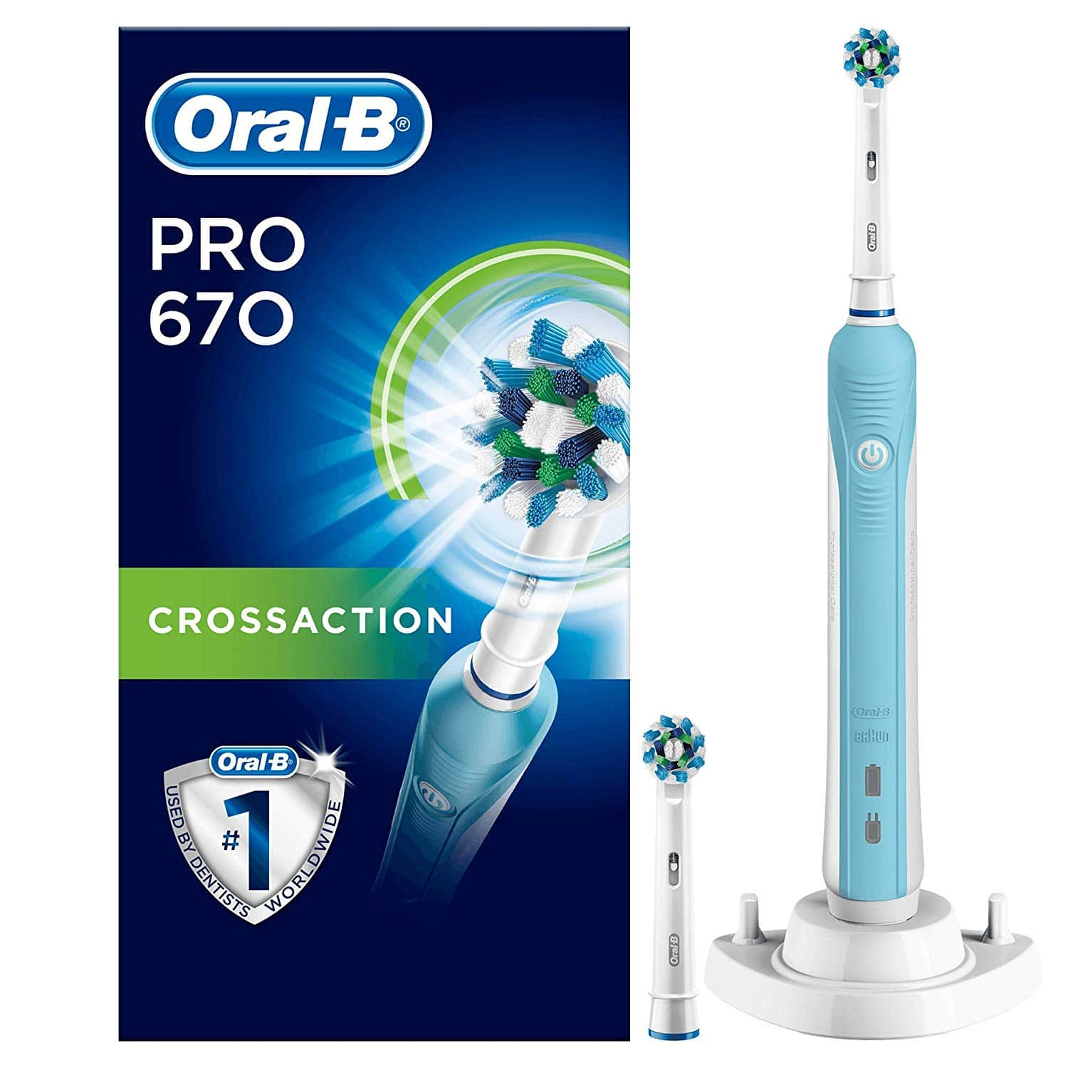 Oral b pro 670 powered by braun